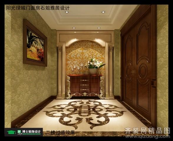 阳光绿城别墅欧式风格装修效果图实景图