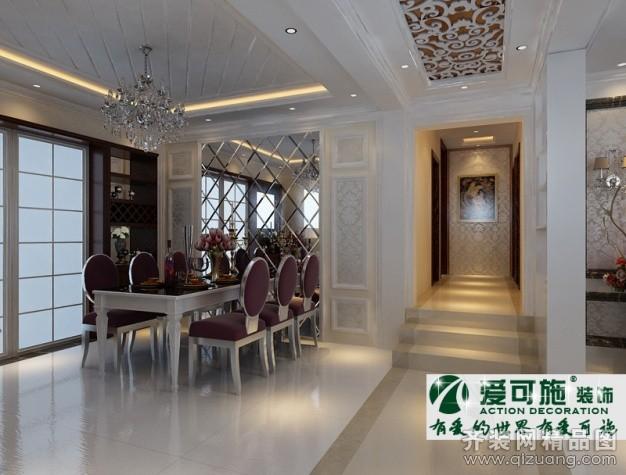 青岛观海华庭120平米普通户型欧式风格家装装修图片