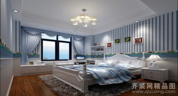 90平米复式户型欧式风格家装装修图片设计-丹阳齐装