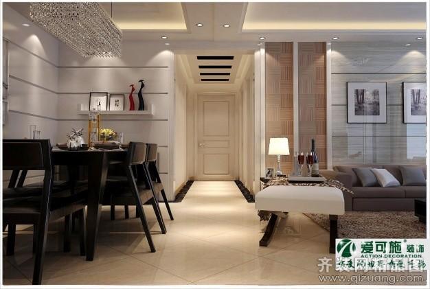 140平米普通户型欧式风格家装装修图片设计-青岛齐装