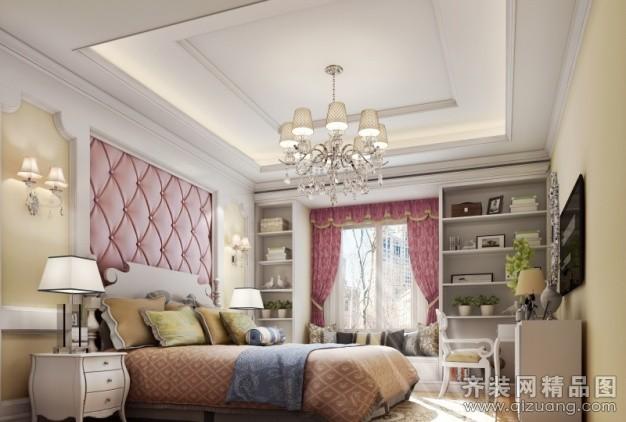 124平米普通户型现代简约家装装修图片设计-扬州齐装