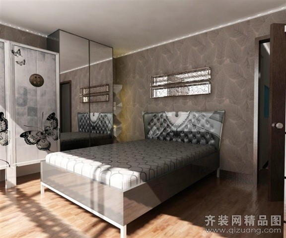 酒店公寓现代简约装修效果图实景图