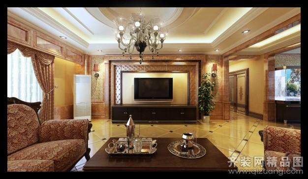 800平米普通戶型歐式風格家裝裝修圖片設計-大通齊裝