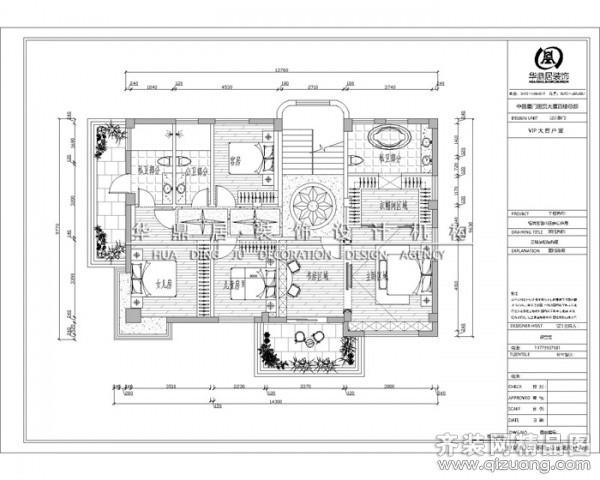 130平米复式户型混搭风格家装装修图片设计-厦门齐装