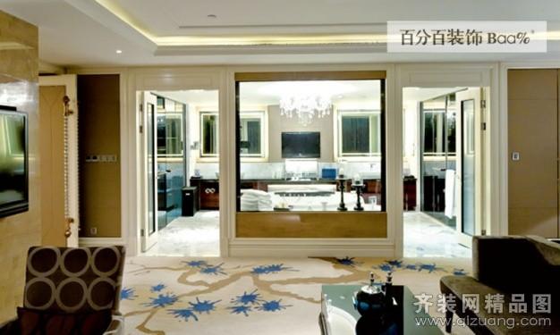 2000平米普通户型欧式风格家装装修图片设计-合肥齐