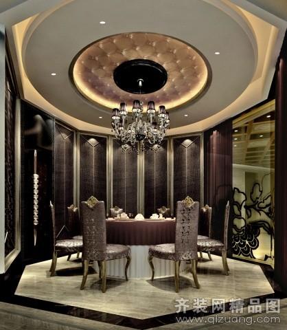 宴会厅美式风格装修图片