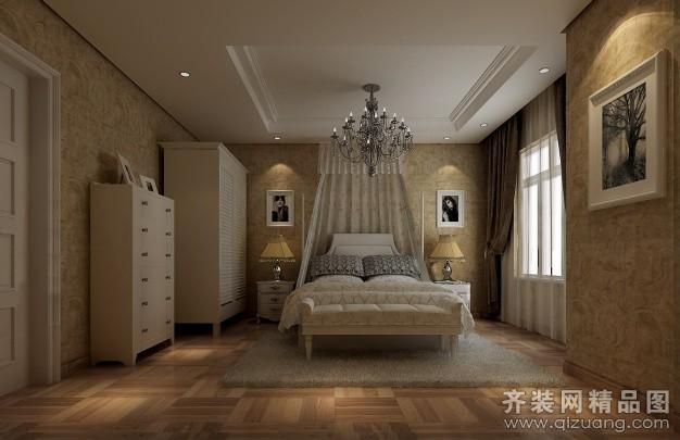 165平米复式户型欧式风格家装装修图片设计-郑州齐装