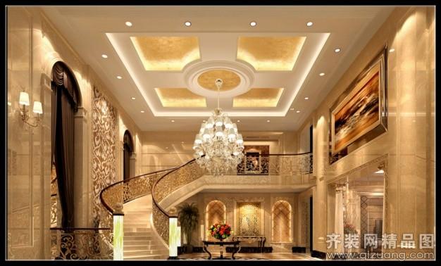 270平米跃层户型欧式风格家装装修图片设计-温州齐装