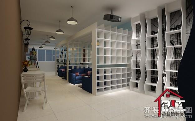 300平米普通户型现代简约家装装修图片设计-淮安齐装