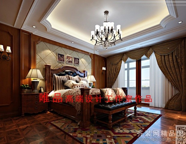吴江七都自建别墅400平米别墅欧式风格家装装修图片