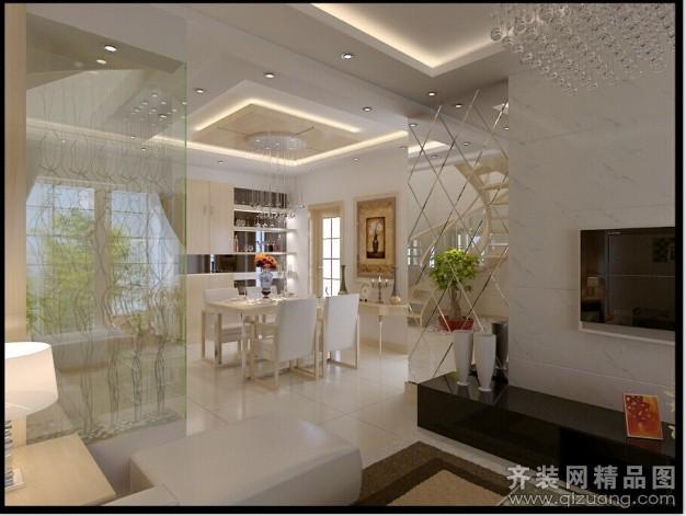 150平米跃层户型现代简约家装装修图片设计-东海齐装