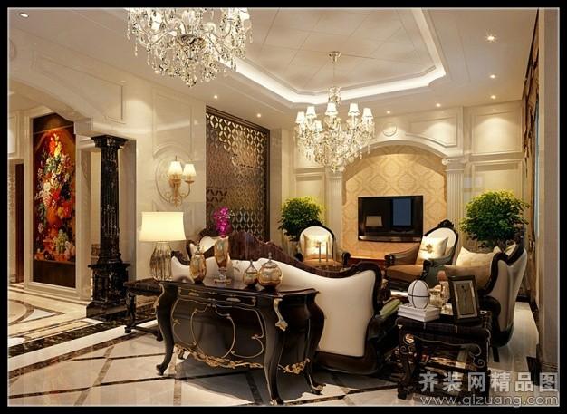 210平米跃层户型欧式风格家装装修图片设计-温州齐装