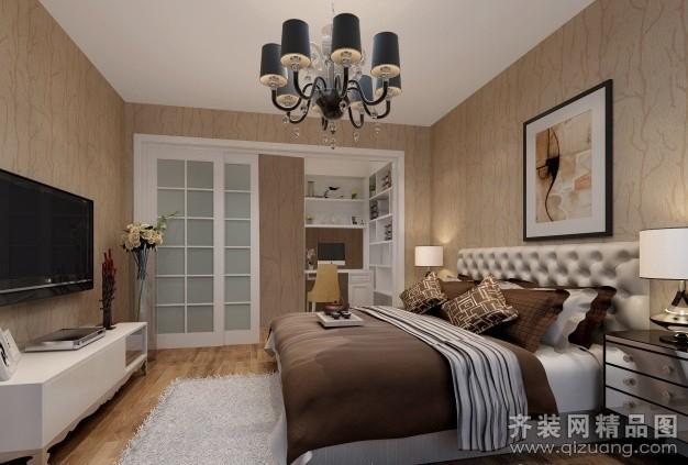 130平米普通户型现代简约家装装修图片设计-昆山齐装