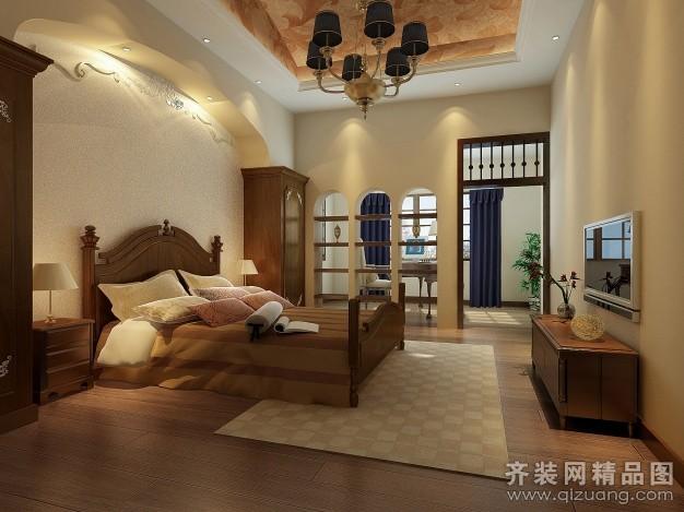 104平米普通户型欧式风格家装装修图片设计-杭州齐装