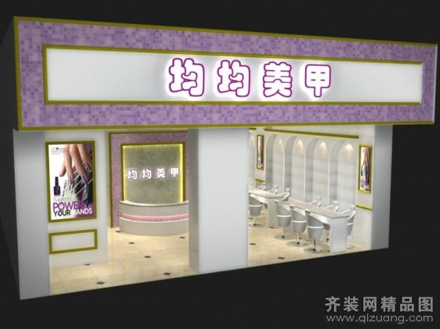 80平米普通户型现代简约家装装修图片设计-杭州齐装