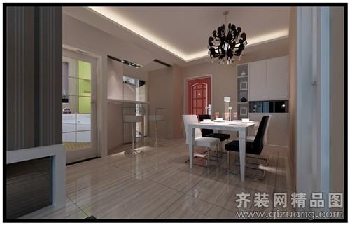 90平米普通户型现代简约家装装修图片设计