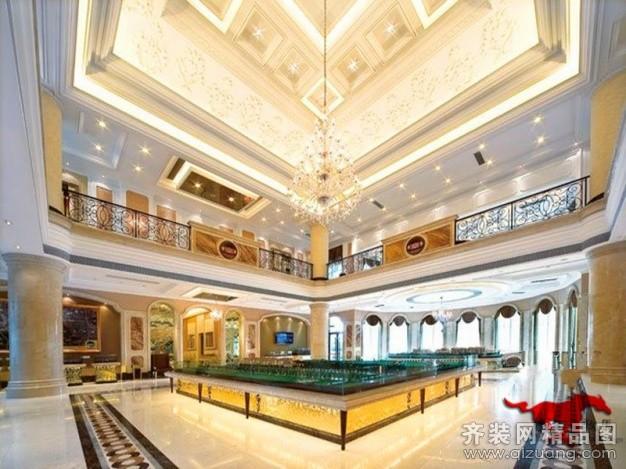 售楼部欧式风格装修效果图实景图