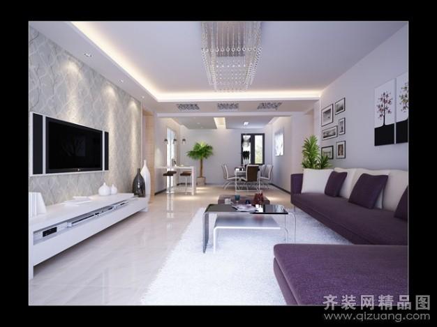 150平米普通户型现代简约家装装修图片设计-昆山齐装