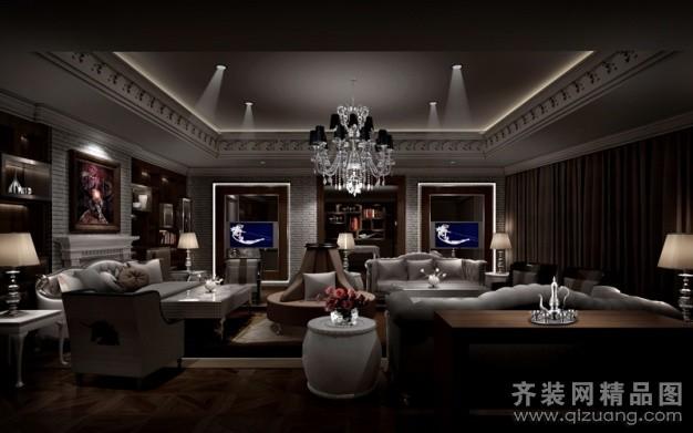3000平米普通户型欧式风格家装装修图片设计-杭州齐