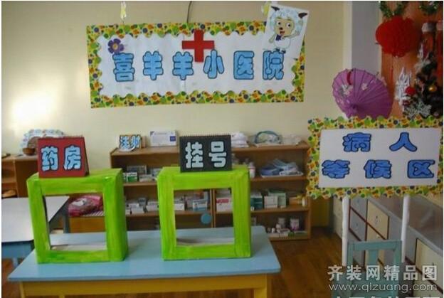 合肥幼儿园3000平米普通户型田园风格家装装修图片-齐