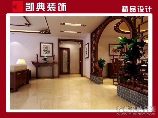 紫园中式风格装修效果图实景图