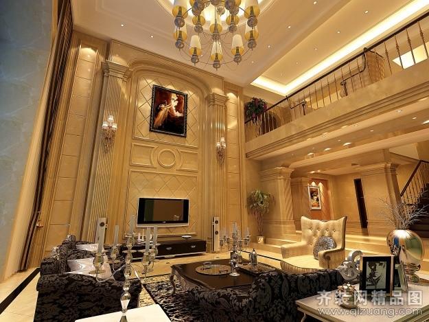 780平米别墅欧式风格家装装修图片设计-宜兴齐装网