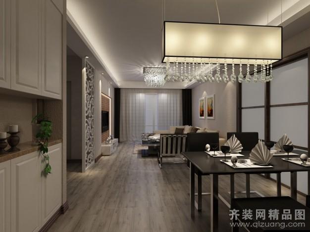 79平米普通户型现代简约家装装修图片设计-厦门齐装网