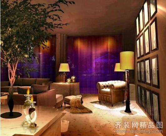 现代中式风格养生馆