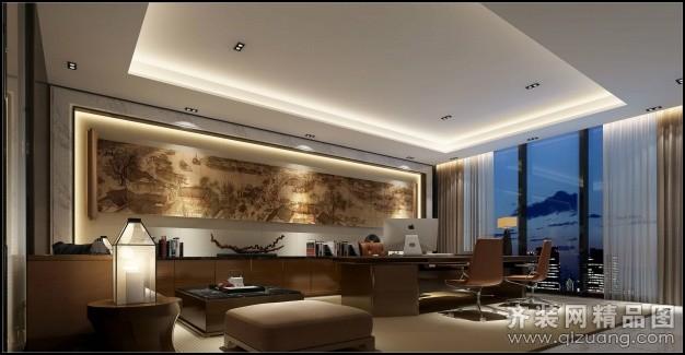1000平米普通户型中式风格家装装修图片设计-温州齐