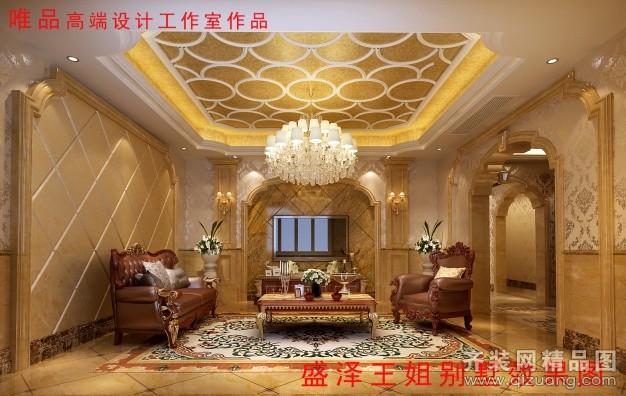 盛泽目澜新村别墅欧式风格装修效果图实景图