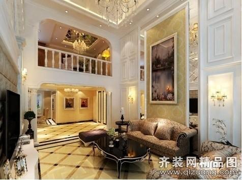 250平米普通户型现代简约家装装修图片设计-厦门齐装
