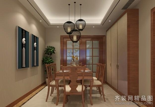 天澜湾中式风格装修效果图实景图