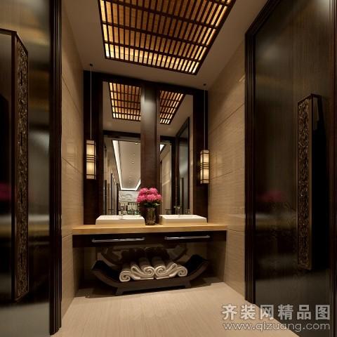 金帝足浴中式风格装修效果图实景图