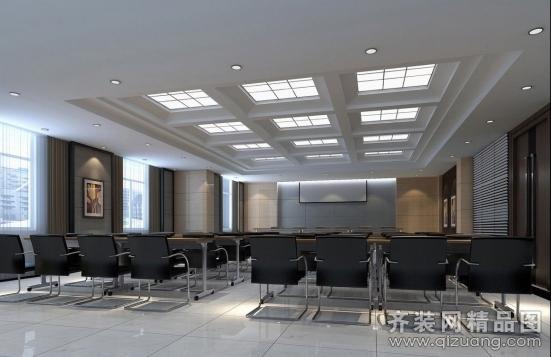厂房办公生活区现代简约装修效果图实景图