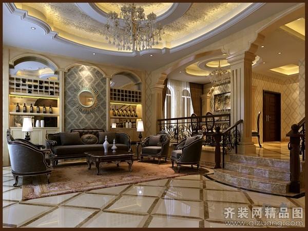 中海半岛华府别墅300平米别墅欧式风格家装装修图片