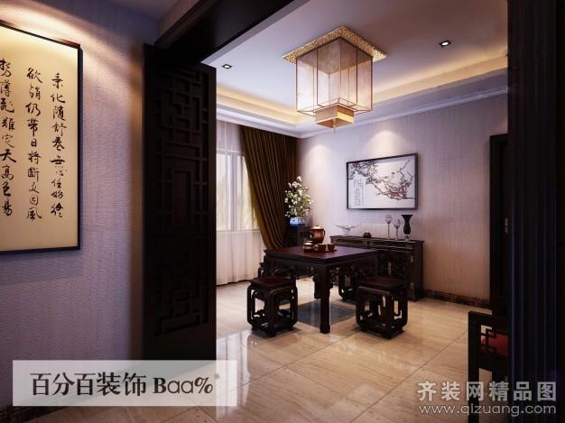 400平米普通户型中式风格家装装修图片设计-合肥齐装