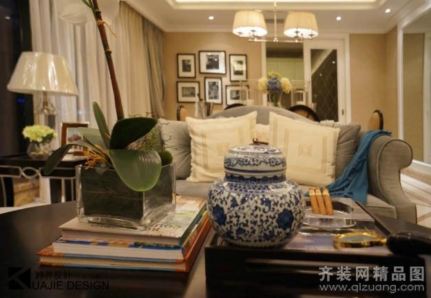 189平米復式戶型美式風格家裝裝修圖片設計-廣州齊裝