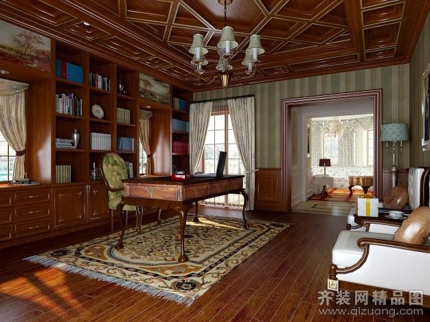 460平米别墅欧式风格家装装修图片设计-吴江齐装网