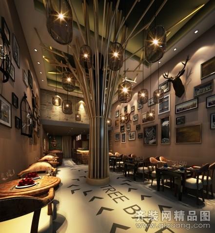 酒吧装修现代简约装修效果图实景图