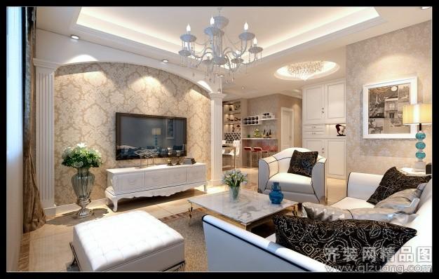 180平米普通户型现代简约家装装修图片设计-天台齐装
