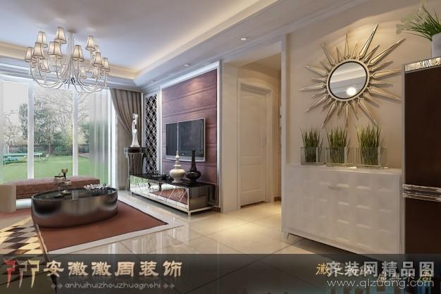 118平米普通户型欧式风格家装装修图片设计-合肥齐装