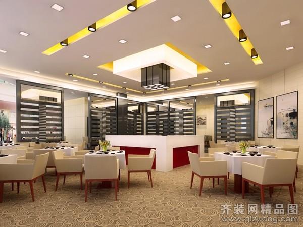 悦海饭店现代简约装修效果图实景图