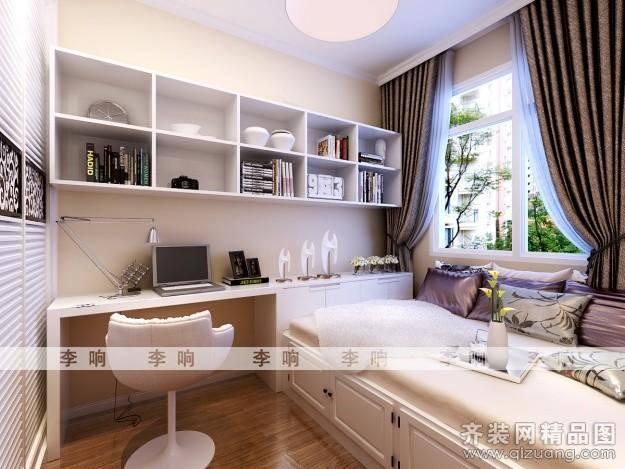 129平米普通户型欧式风格家装装修图片设计-青岛齐装