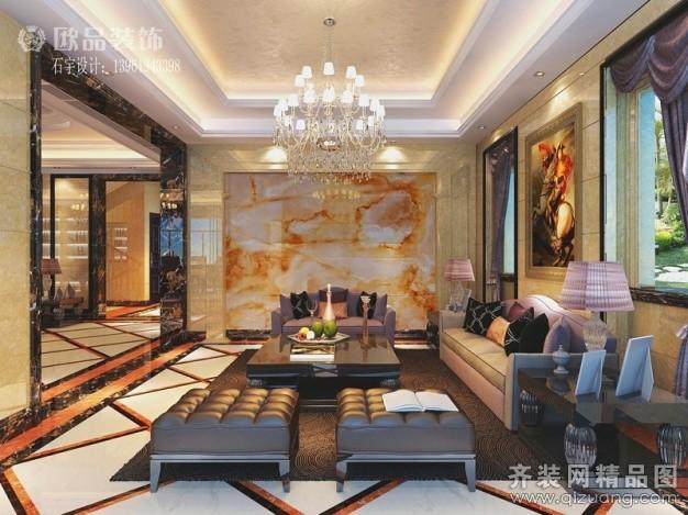 780平米别墅欧式风格家装装修图片设计-南通齐装网