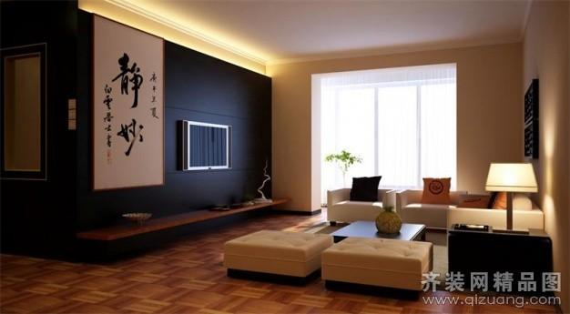 明珠馨城中式风格装修效果图实景图
