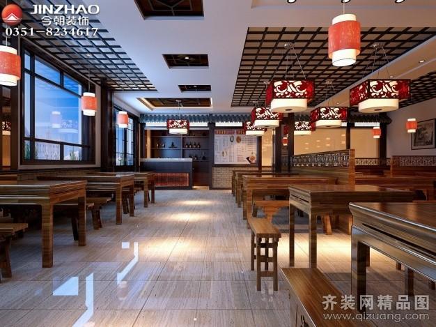 酒楼中式风格装修效果图实景图