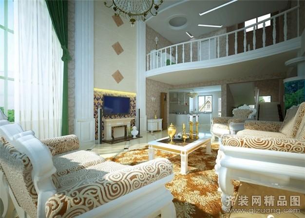225平米跃层户型欧式风格家装装修图片设计-贵阳齐装