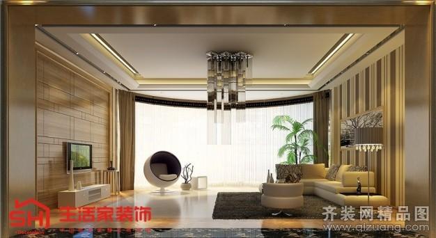 260平米别墅欧式风格家装装修图片设计-贵阳齐装网