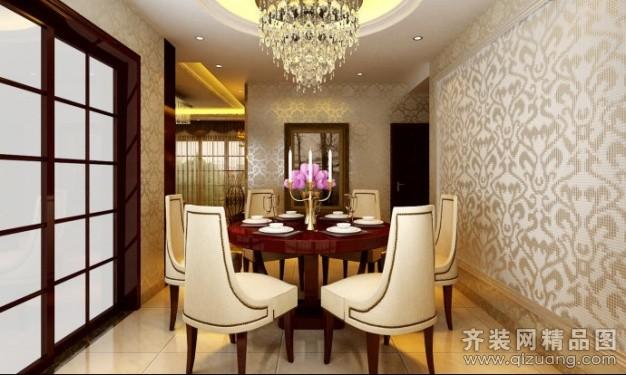 120平米普通户型欧式风格家装装修图片设计-广州齐装