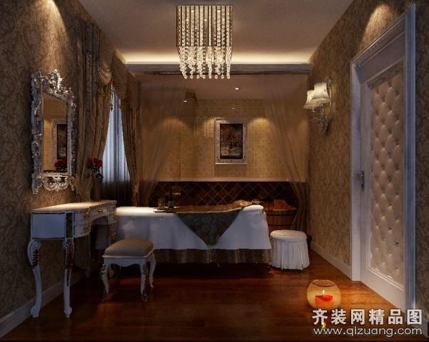 230平米普通户型欧式风格家装装修图片设计-郑州齐装